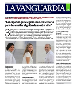 Para ver el articulo en LA VANGUARDIA on line: http://hemeroteca.lavanguardia.com/preview/2013/12/09/pagina-4/92833087/pdf.html?search=%22Norman%20Foster%22